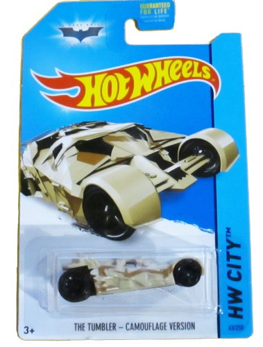 2014 Hot Wheels Hw City - The Tumbler - Camouflage Version - 1