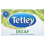 Tetley Decaf 40 Tea Bags 125g - Pack of 6