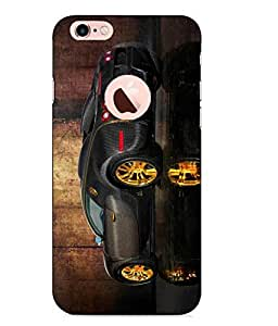 Case Cover Car Printed Multicolor Hard Back Cover For Apple Iphone 6