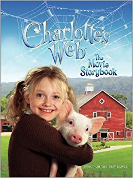 charlottes web the movie storybook kate egan amazon
