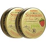 Rosebud Perfume Co. Lip Balm--Strawberry 2 Pack