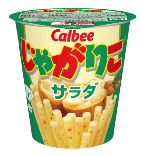60g12 pieces Calbee Jagariko salad...