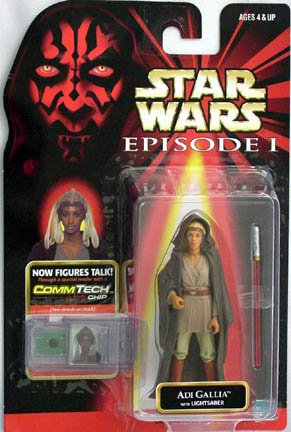 Star Wars Episode I Basic Figure Collection III Adi Gallia
