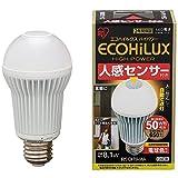 アイリスオーヤマ  LED電球 人感センサー付 電球色相当 650lm LDA8LHS1