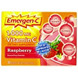 Emergen-C Raspberry, 30-count ~ Emer'gen-C
