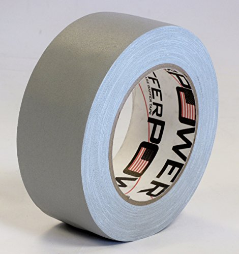 Professional Premium Grade Gaffer Tape - GREY - 2 Inch x 30 Yards - Heavy Duty Pro Gaff Tape - Strong, Tough and Powerful, Secures Cables, Holds Dow