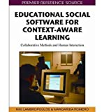 img - for [(Educational Social Software for Context-aware Learning: Collaborative Methods and Human Interaction )] [Author: Niki Lambropoulos] [Dec-2010] book / textbook / text book