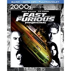 The Fast & the Furious (Blu-ray + Digital Copy + UltraViolet)