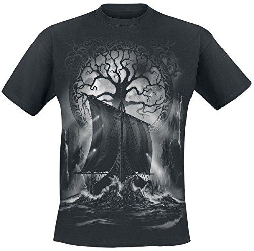 Toxic Angel Naglfar T-Shirt nero XXL
