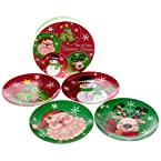 Porcelain Plates - Set of 4