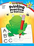 Printing Practice for Beginners, Grades K - 1: Gold Star Edition (Home Workbooks)