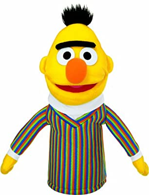 Gund Sesame Street Bert Hand Puppet by Rejects from Studios