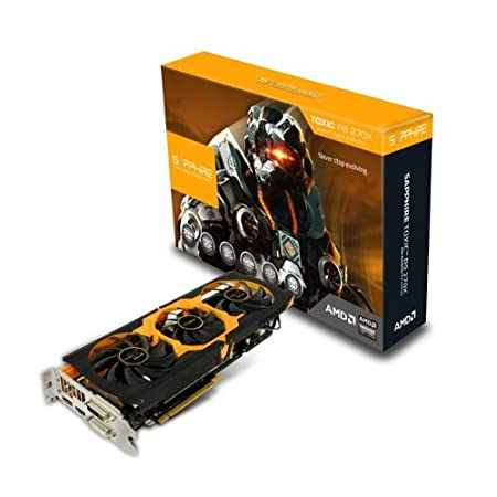 SAPPHIRE GRAPHICS CARD R9 270X 2GB DDR5 TOXIC EDITION WITH BOOST (UEFI)