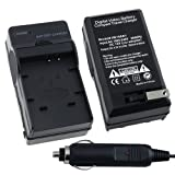 BATTERY CHARGER FOR PANASONIC CGA-S007 LUMIX DMC-TZ5 US