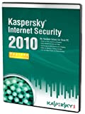 Kaspersky Internet Security 2010, DVD (1 PC, 1 Year subscriptions)