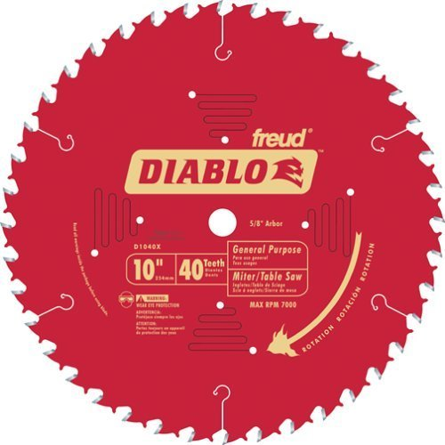 Diablo Carbide Tipped Table, Miter, And Radial Arm Saw Blade (Radial Arm Saw Table compare prices)