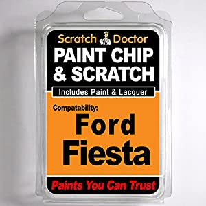 FORD Fiesta Touch Up Paint Stone Chip Scratch Repair Kit 2005-2014 by The Scratch Doctor