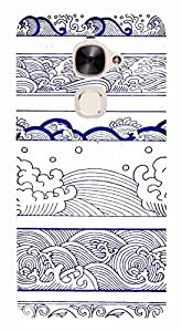 WOW Printed Designer Mobile Case Back Cover For LeEco Le 2