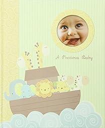 C.R. Gibson Keepsake Memory Book of Baby\'s First Year, Noah\'s Ark