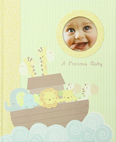 C.R. Gibson Keepsake Memory Book of Baby's First Year, Noah's Ark