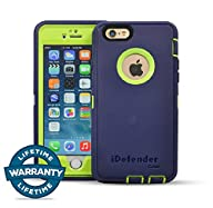 :iPhone 6/6S Case, MCCC iDefender Heavy Duty Shockproof Series Case for iPhone 6/6S (4.7″)-V2 with…