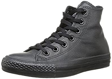 Converse Converse Men's All Star Core Hi Sneaker (Black Monochrome 10.0 M)