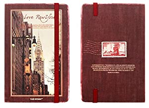 New York Weekly Planner - Red Wine (S)