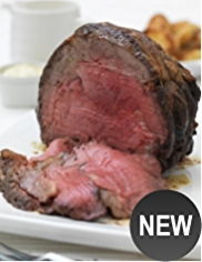 Medium Boneless rolled rib of Aberdeen Angus Beef (Serves 7)