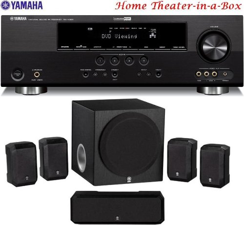 Home Theater Speaker Wire : Yamaha d ready watt channel home theater receiver