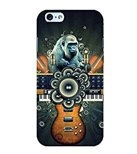 Stylish Guitar Back Case Cover for Apple iPhone 6