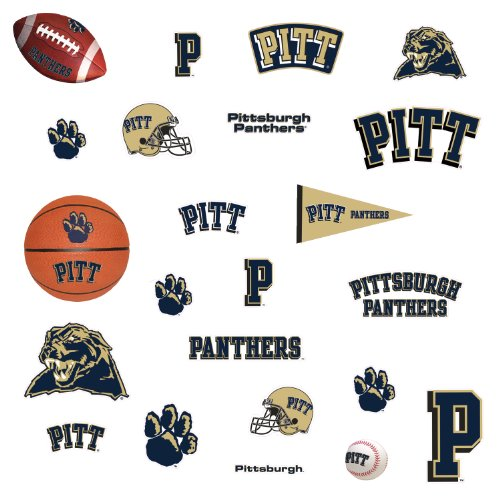 Roommates Rmk1701Scs University Of Pitt Peel & Stick Wall Decals front-1081229