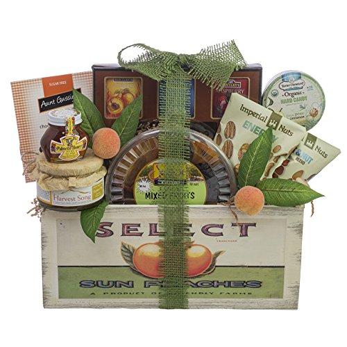 Classic Vintage Fruit Crate Rosh Hashanah Gift Basket