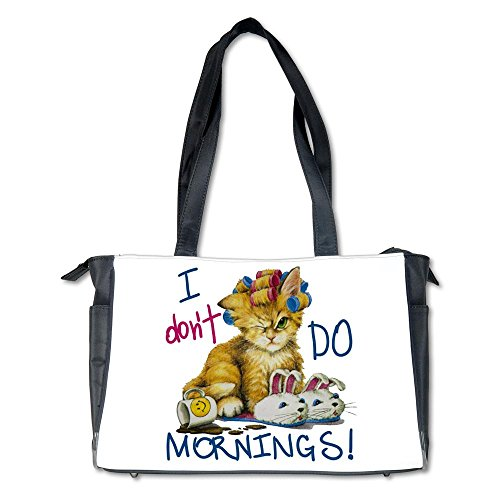 Diaper Bag I Don'T Do Mornings Cat