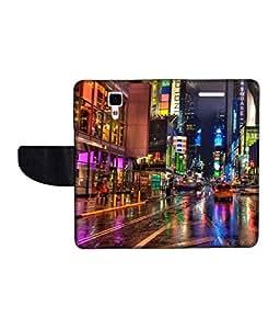 KolorEdge Printed Flip Cover For Redmi Xiaomi MI 4 Multicolor - (50KeMlogo09884XiaomiMI4)