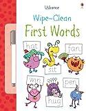 Wipe Clean First Words (Usborne Wipe Clean Books)