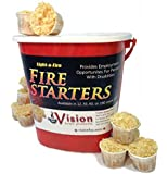 Light-a-Fire, Amazon's Best All-natural Fire Starter, 30 Pods with Container