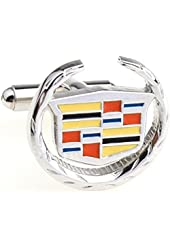 Cadillac Logo Cufflinks for Men - Vehicle Collection