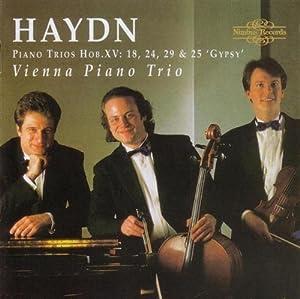 Haydn: Piano Trios Hob. XV: 18, 24, 29 & 25 'Gypsy'