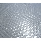 Blue Wave 18-Feet Round Solar Blanket for Above Ground Pools 12-mil, Clear