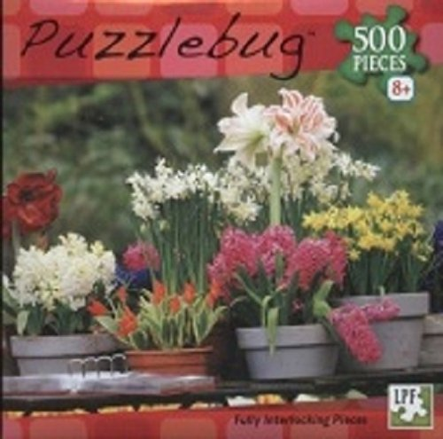Puzzlebug 500 pcs Spring Garden Flowers