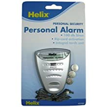Helix Personal Flashlight Alarm, Grey (31424)