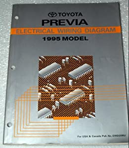 toyota electrical wiring diagrams toyota previa electrical wiring diagrams #8