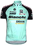Santini Replica TX Active Bianchi Short Sleeve Jersey - Turquoise/Black, 3X-Large