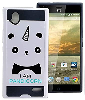 ZTE Warp Elite Z9518 Case Cover Pandicorn Panda Unicorn Meme Funny by NPCase Hybrid Unique Design Combo Case With Armor Defender Protection Dust Shock Proof Fits ZTE Warp Elite Z9518 Boost by NickyPrints