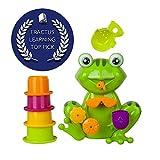 ZIG-ZAG-KID-Non-toxic-Frog-Baby-Bath-Toys-Green