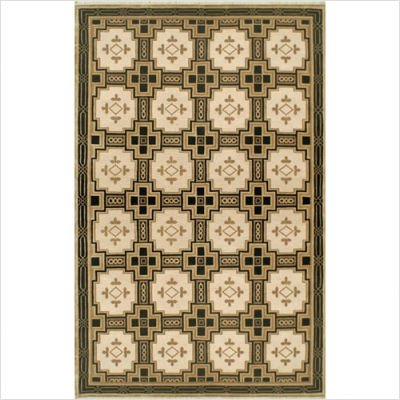 "Neo Nepal Gold / Black Empire Oriental Rug Size: Runner 2'6"" x 6'"