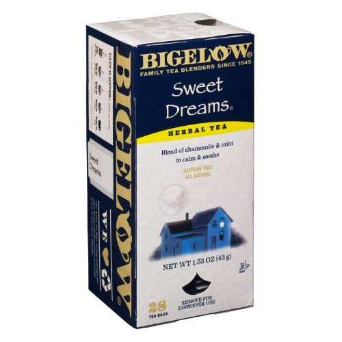 Bigelow Tea Bags, Sweet Dreams, 28-Count Boxes (Pack Of 6) front-479241