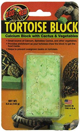 Zoo Med Laboratories SZMBB55 Tortoise Banquet Block, Net WT 5 oz (Tortoise Table compare prices)