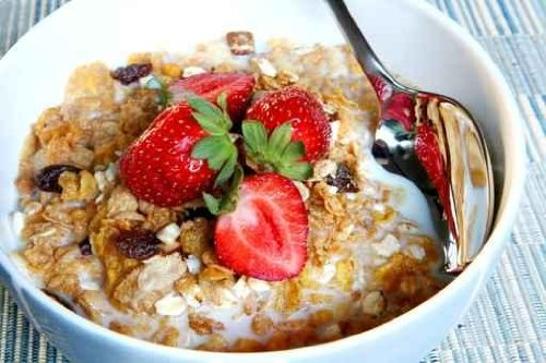 Breakfast Cereal with Strawberries - 72