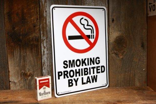 喫煙禁止 のプラスティック製サインボード タバコ 禁煙 JSCA25